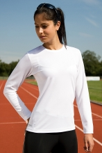 naisten spiro pitkähihainen performance t-paita