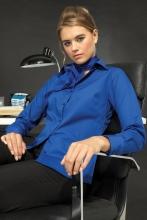 naisten pitkähihainen easy care popliinipaita