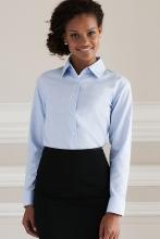 naisten pitkähihainen easy care oxford paitapusero