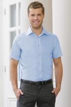 miesten lyhythihainen räätälöity ultimate non-iron paita