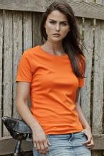 naisten interlock t-paita